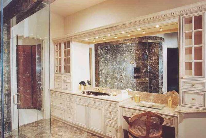 ремонт ванной комнаты панелями фото