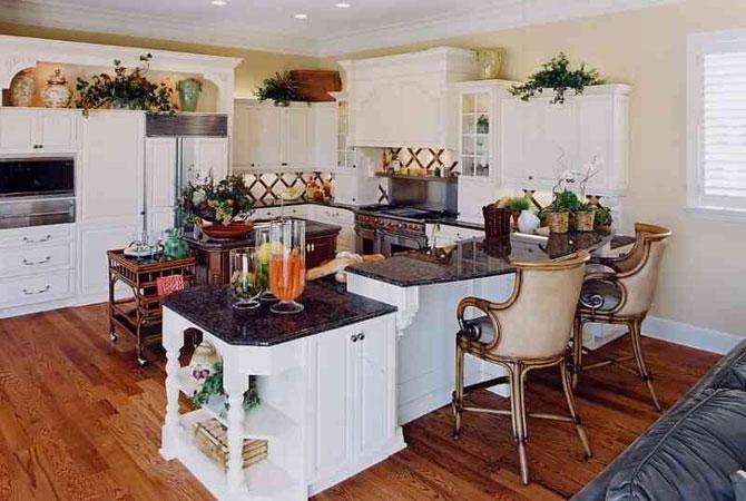 кухни домашний интерьер фото