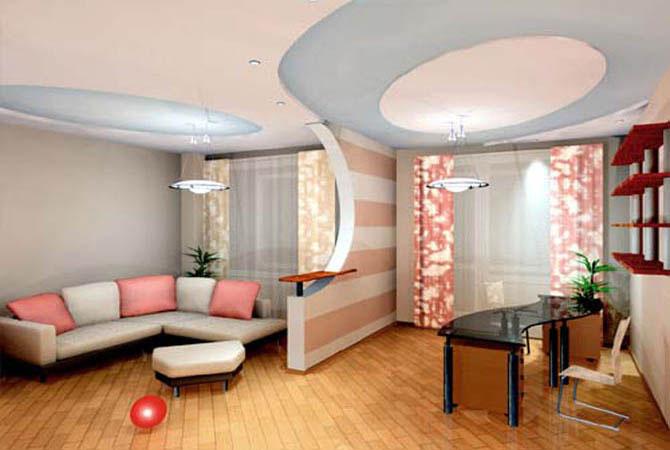дизайн интерьера квартир ландшафта