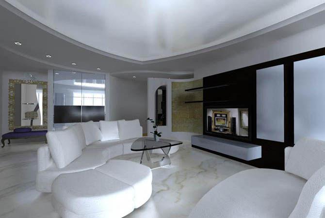 интерьер гостинной комнаты фото