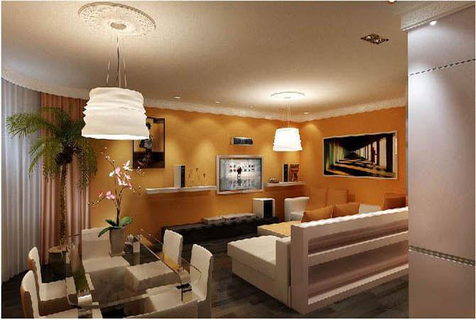дизайн интерьер однокомнатной квартиры