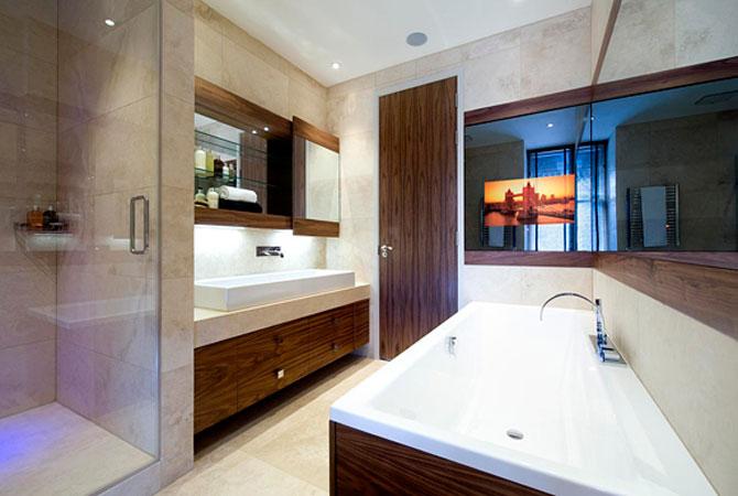 ремонт стандартной ванной комнаты