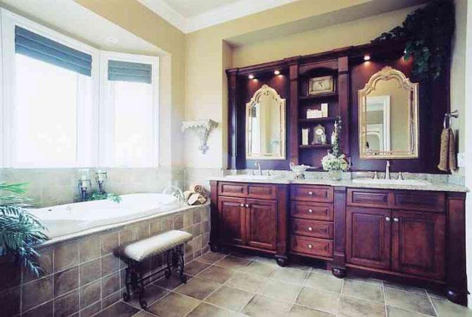 интерьеры ванной комнаты фото