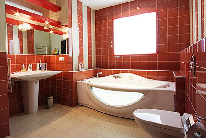 дизайн интерьер ванной комнаты