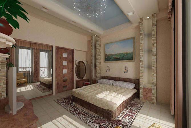 дизайн проэкты 2х комнатных квартир