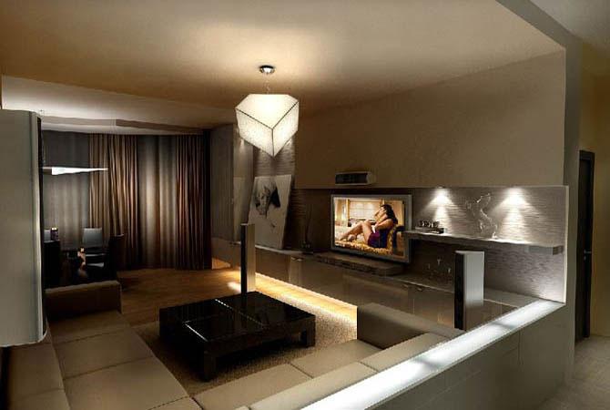 дизайн ванной комнаты 3d
