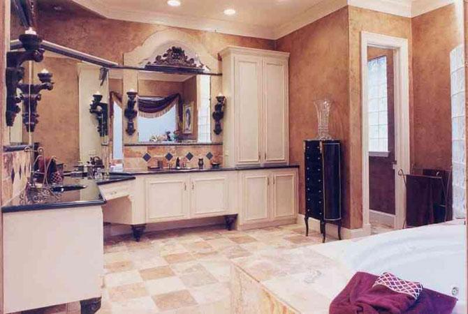 3d интерьер ванной комнаты