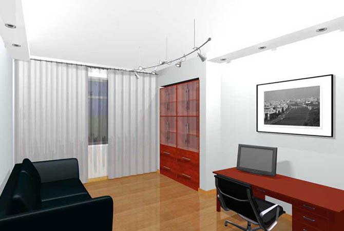 каталог дизайн проектов однокомнатной квартиры
