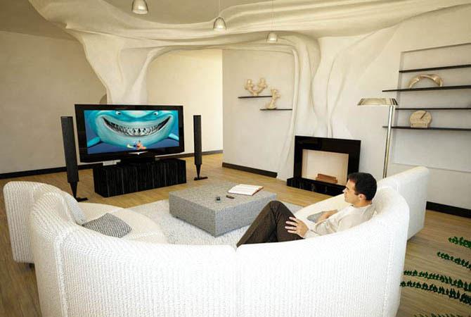 интерьер 1 комнатная квартир