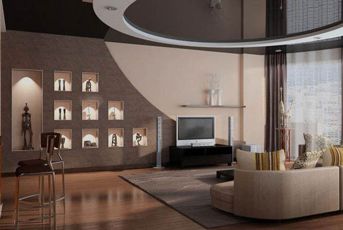 дизайн интерьера ремонт квартир москва