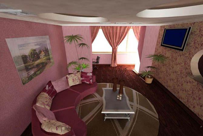 дизайн проект 5 комнатная квартира