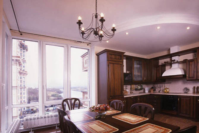 интерьер комнаты отдыха сауны