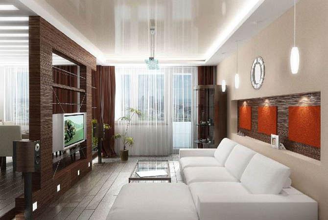 проекты ремонта однокомнатных квартир