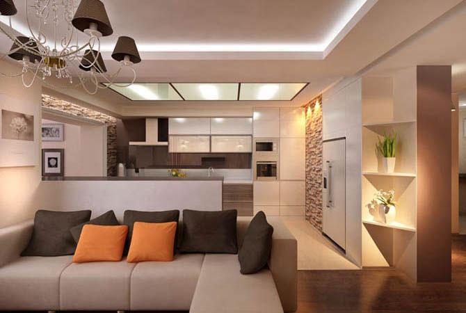 дизайн проекта квартиры п44т