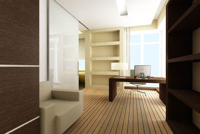 дизайн проект 1 комнатной