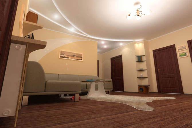 современный дизайн интерьер квартир