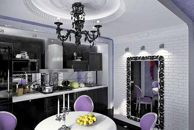 дизайн интерьера квартиры проекты