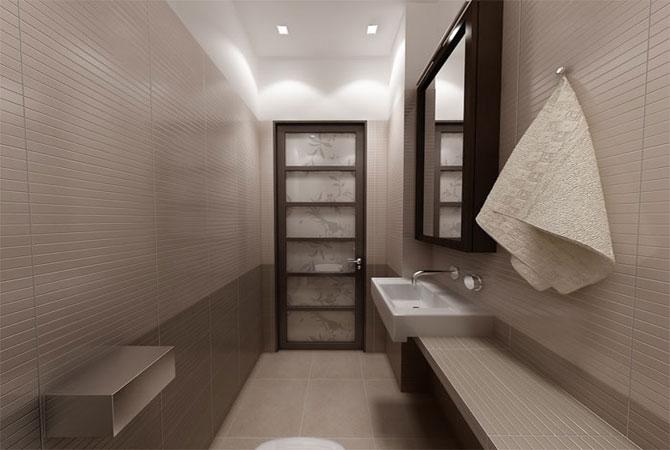 дизайн интерьера ванной комнаты маленькой