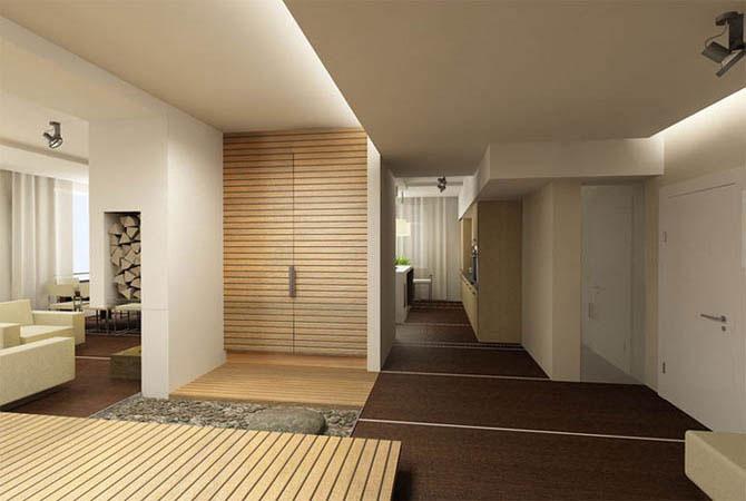 дизайн интерьера прихожей квартиры