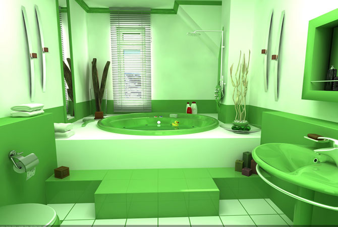 дизайн ванной комнаты портфолио