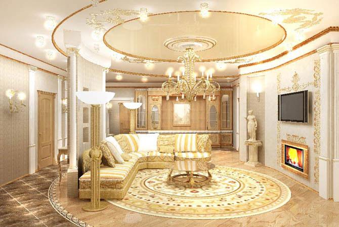 интерьер квартиры московской планировки