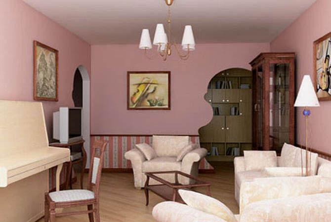 дизайнерские решения маленьких комнат