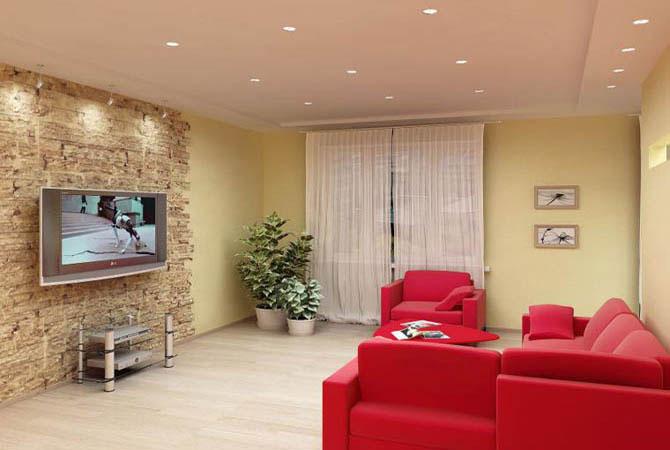 дизайны интерьеры однокомнатных квартир