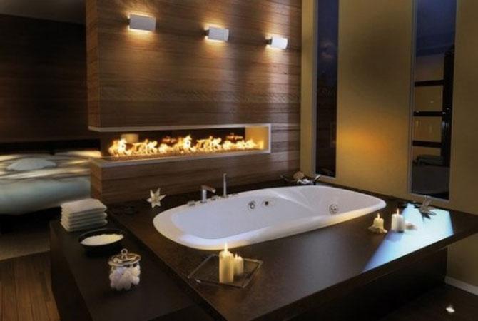 готовые дизайн решения ванных комнат