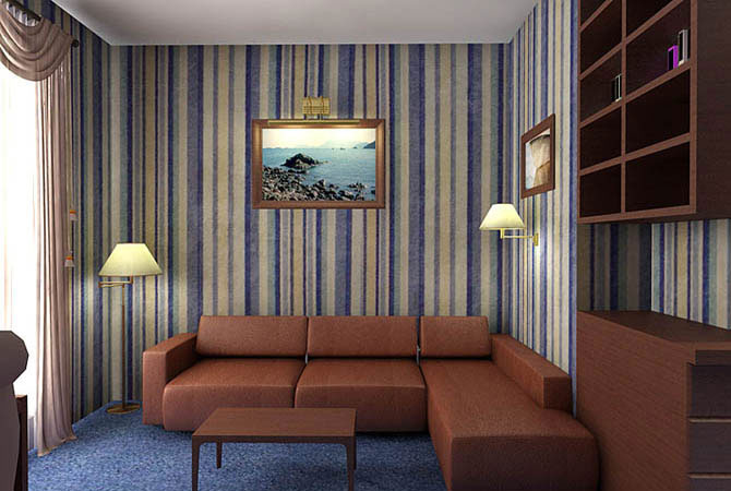 дизайн квартиры оранжевый цвет сочетание