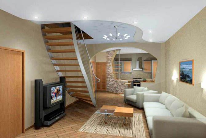 дизайн интерьера дома фото