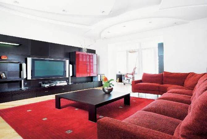 черно белый дизайн квартир