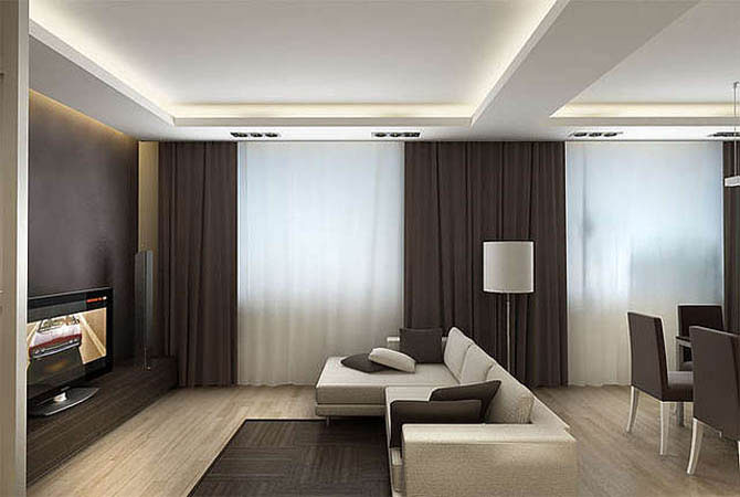интерьеры гостиных комнат фото