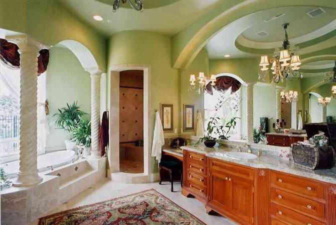 интерьер ванной комнаты бесплатно