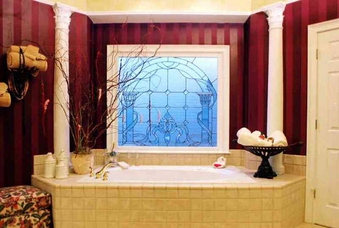 дизайн ванная комната интерьер