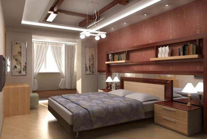 деревянная отделка внутри дома