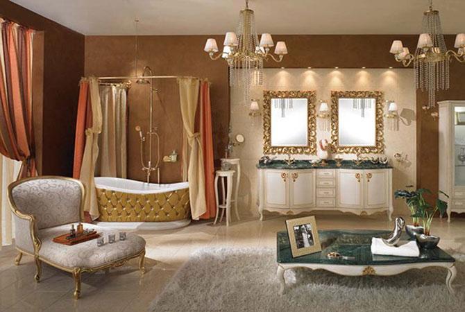 варианты ремонта ванных комнат