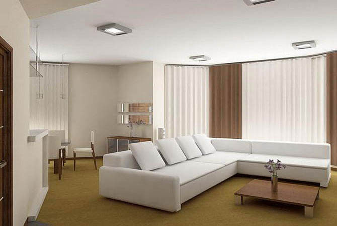 дизайн зала фото квартиры