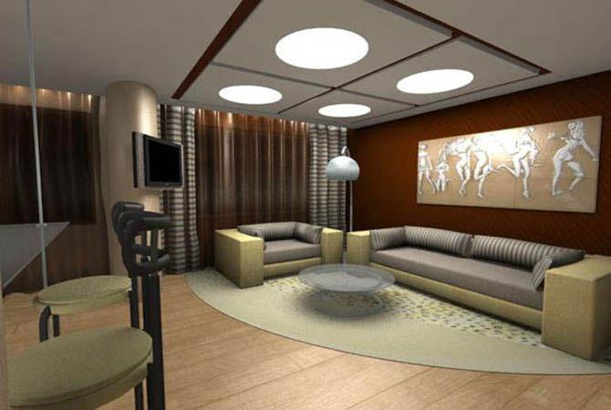 готовые дизайны однокомнатных квартир