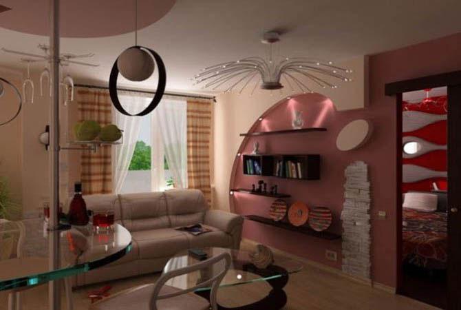 дизайн проект квартиры ип 46с