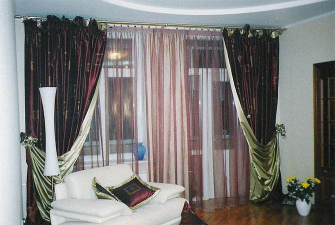 интерьер квартир кожа мех